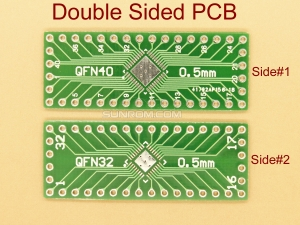 QFN32 QFN40 0.5mm SMD Adapter PCB