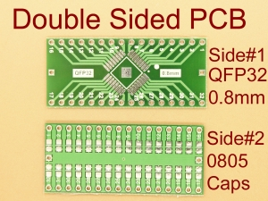 QFP32 0.8mm SMD Adapter PCB