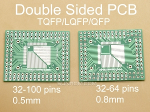 32-100 pins 0.5/.8mm Quad ICs Adapter PCB