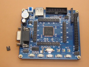 STM32F103VCT6 Dev Board for TFT LCDs with Source Code