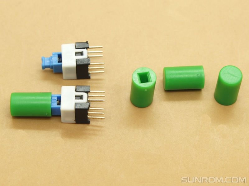 Green Cap for Push ON/OFF Switches