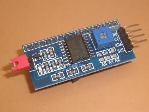 I2C LCD Backpack - PCF8574