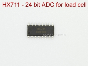 HX711 - SOIC16 - 24 bit ADC IC for load cell