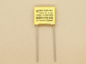 0.022uF 275V (223K 22nF) - Pitch 10MM - X2 Safety MKP