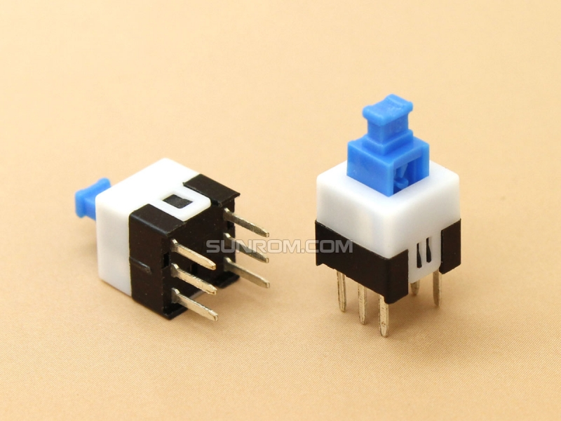 Push ON/OFF Switch 7mm