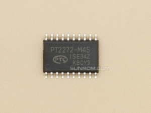 PT2272-M4S SOIC-20 - RF Decoder - Momentary Output