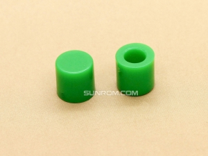 Green Cap for 6x6mm Tactile Switches - 6.2mm Diameter