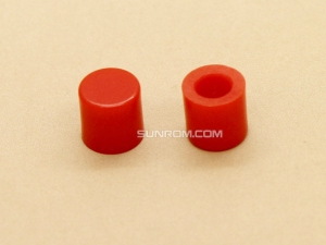 Red Cap for 6x6mm Tactile Switches - 6.2mm Diameter