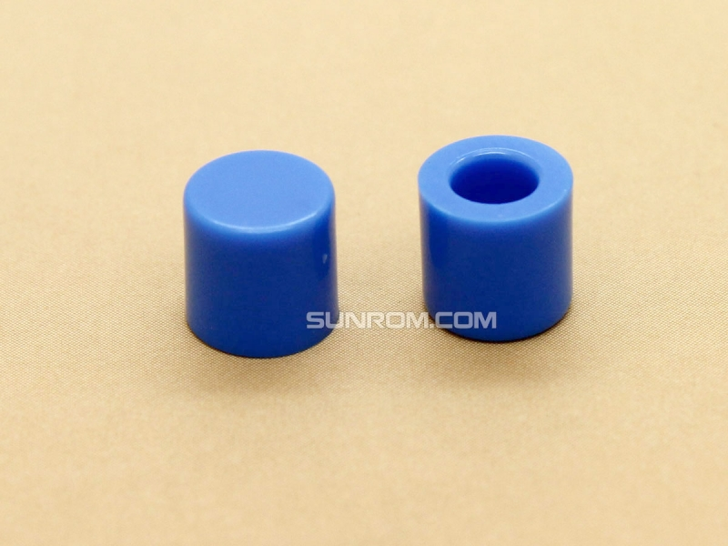 Blue Cap for 6x6mm Tactile Switches - 6.2mm Diameter
