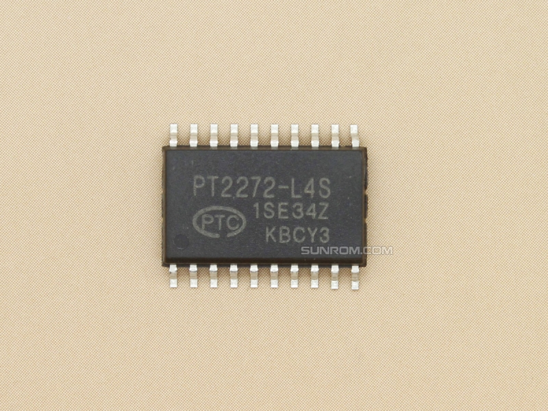PT2272-L4S SOIC-20 - RF Decoder - Latch Output