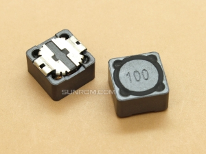 10uH (100) SMD 12mm Inductor