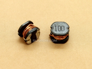 10uH (100) SMD 5mm Inductor