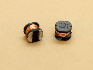 220uH (221) SMD 5mm Inductor
