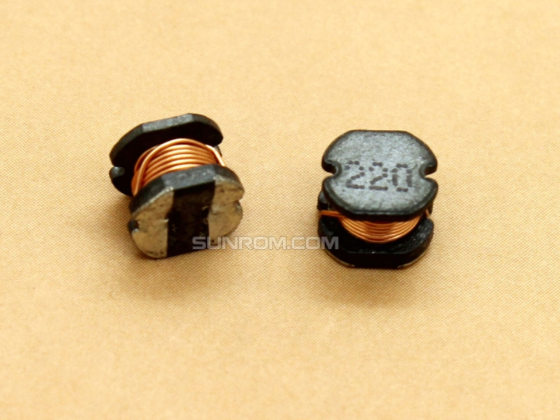 22uH (220) SMD 5mm Inductor