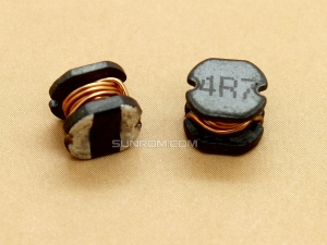4.7uH (4R7) SMD 5mm Inductor
