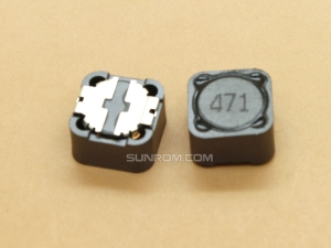 470uH (471) SMD 12mm Inductor