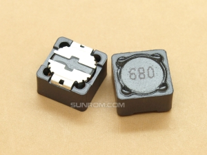 68uH (680) SMD 12mm Inductor