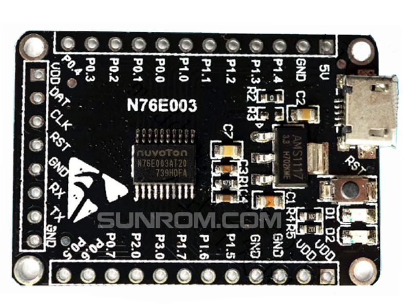 N76E003 - N76E003AT20 Nuvoton Development Board [5381