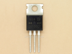 MBR20100CT  TO220 - 2x10A 100V Rectifier