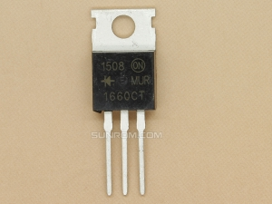 MUR1660 - TO220 - 16A 600V - Ultra Fast Rectifier