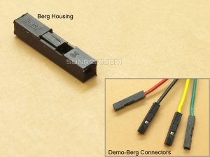 1x1 Berg Housing 2.54mm