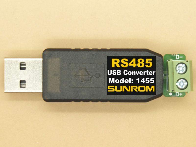 Usb To Rs485 Converter Ftdi Ft230x 1455 Sunrom Electronics
