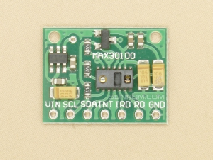 Pulse Oximeter SpO2 and Heart-Rate Sensor Module - I2C - MAX30100
