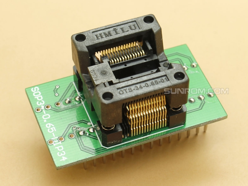 TSSOP28 SSOP28 - 0.65mm - Body 5.3mm - ZIF Socket