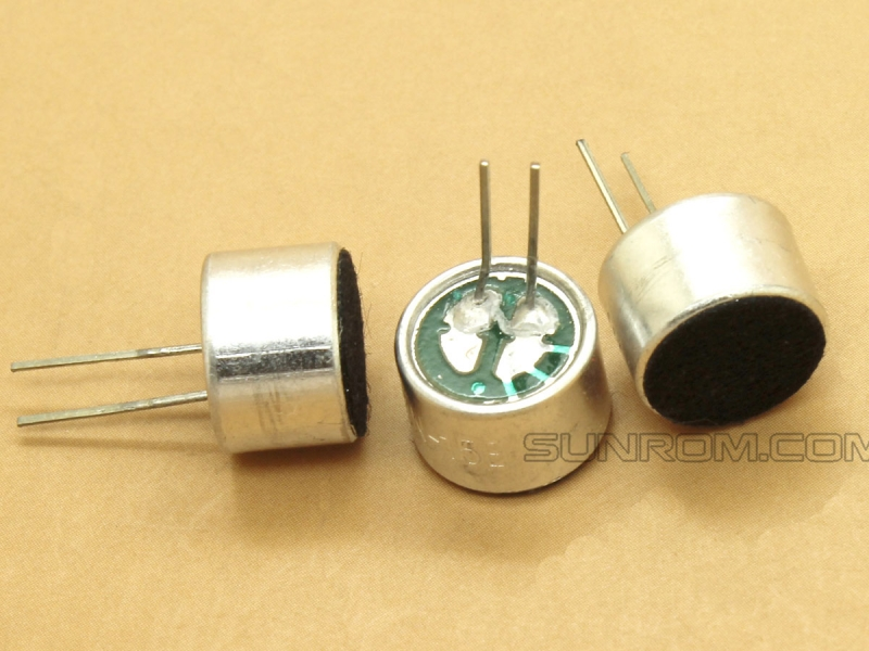 CZN-15E Omnidirectional Electret Condenser Microphone 9x7mm with pins - 9767 - Capacitive - Sensitivity 58