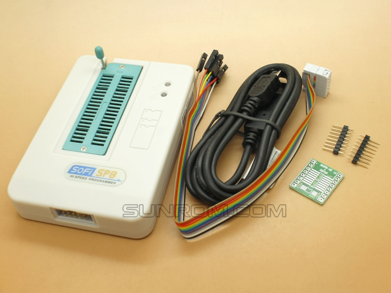 SOFI SP8-A - High speed USB programmer for Flash/EEPROM type