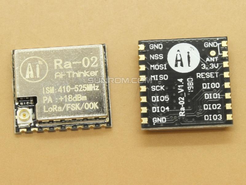 LoRa RF Module - RA-02 - SX1278 - 433 Mhz - SPI - Wireless