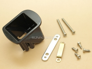 Mounting Bracket - Clamping Kit for Fingerprint Sensors R305 R307 - Black