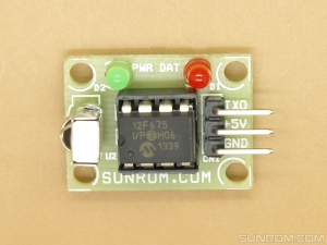 RC5 Remote Decoder Serial Out