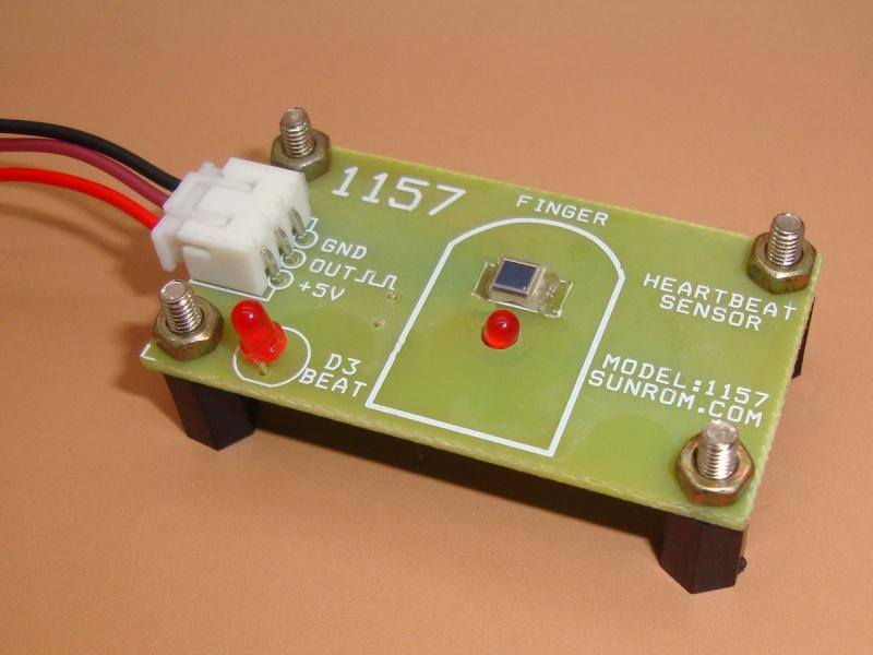 Heart Beat Sensor Digital Pulse Out 1157 Sunrom