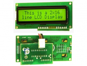 16x2 LCD - Serial Input