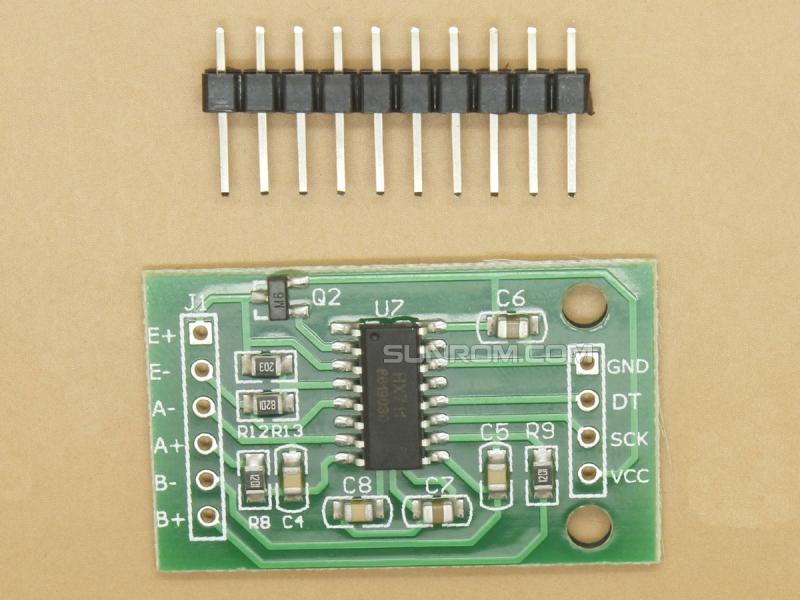 HX711 MÓDULO CONVERSOR ANALÓGICO//DIGITAL DE 24 BITS ADC HX711 WEIGHING SENSOR A//