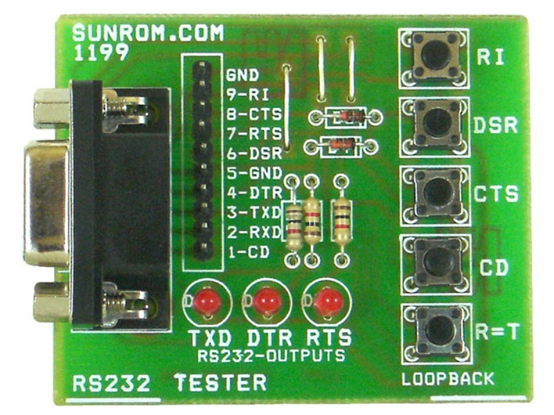RS232 Interface Tester