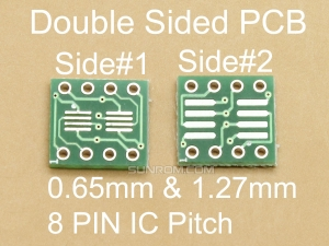 8 Pin 0.65/1.27mm ICs Adapter PCB