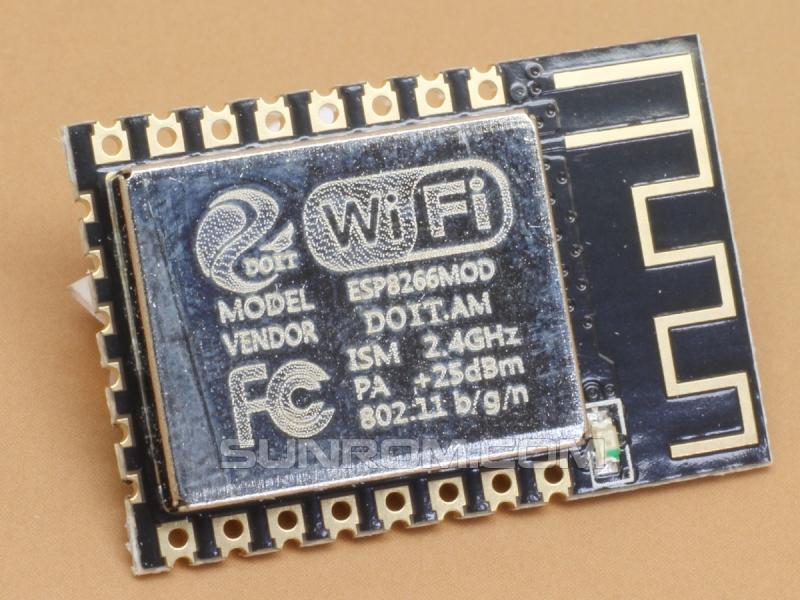 WiFi Module - ESP8266 - ESP-12F 4MB [6182] : Sunrom