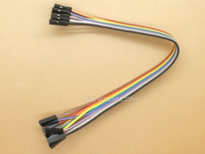 Jumper Wires - Female/Female - 10 way - 20cm (8 In)