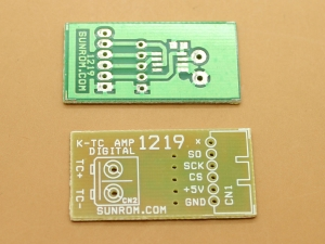 PCB for MAX6675
