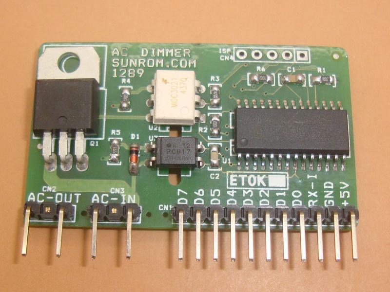 Dimmer Module Digital Control 256 Steps 1289