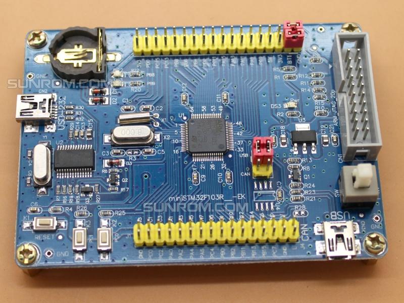 Stm32f103rbt6 Dev Board 4059 Sunrom Electronics