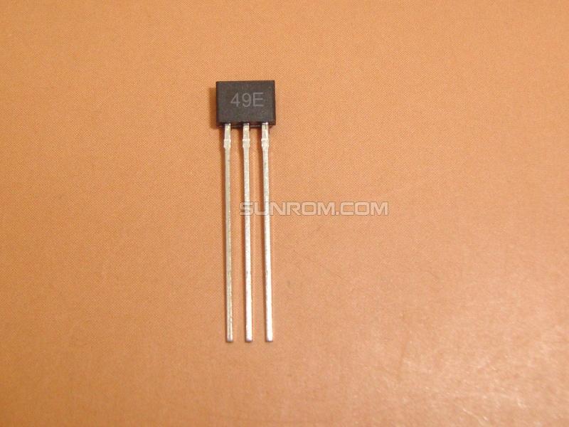 SS49E - Hall Sensor - Linear Analog [4076] : Sunrom