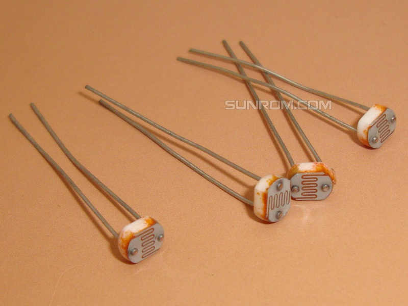 LDR 5mm - Light Dependent Resistor [3190] : Sunrom Electronics ...