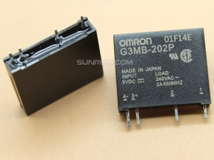Solid State Relay(SSR) DC(5V) - AC(100-240V) 2A
