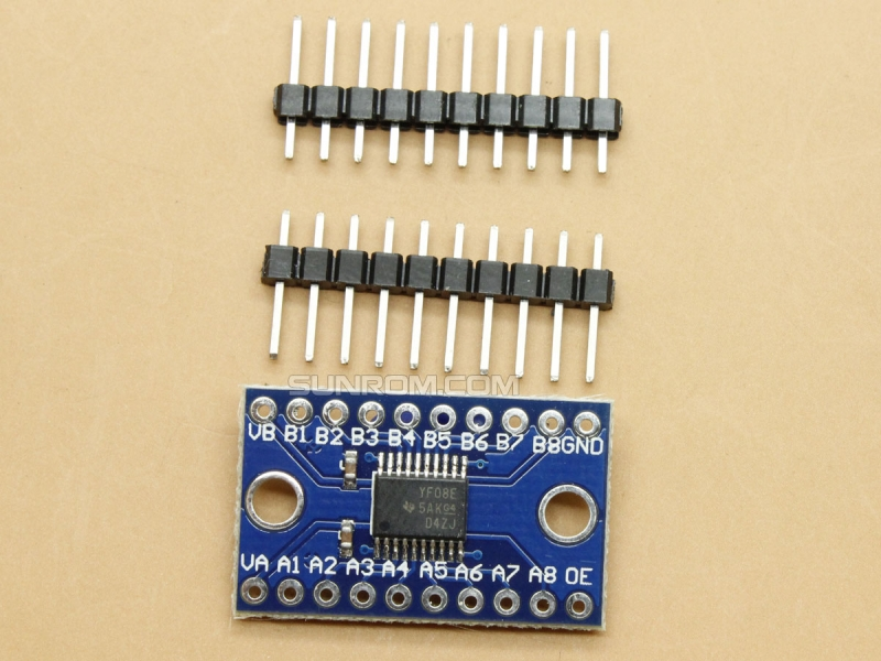 8-Way level conversion board - TXS0108E