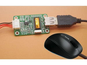 USB Mouse Decoder - Serial Output