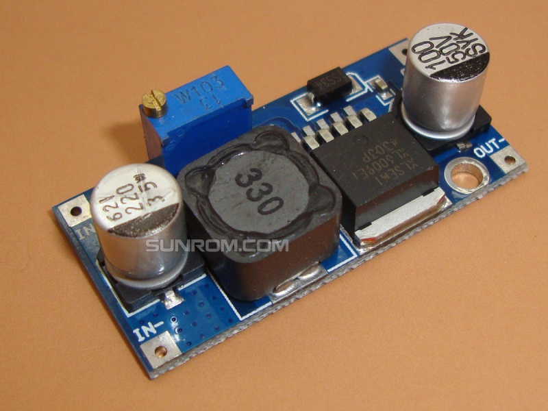 DC-DC Step Up Boost 4A - XL6009 [4316] : Sunrom Electronics