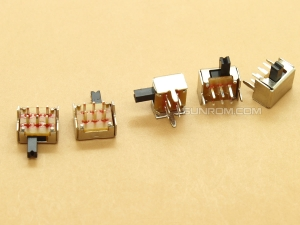 Slide Switch - 8.6mm - Horizontal 2P2T